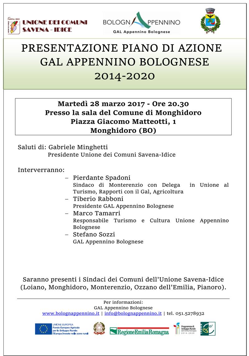 Locandina GAL Appennino Bolognese  Monghidoro 28.03.png