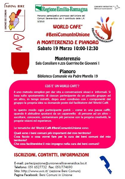 Locandina wc Pianoro Monterenzio